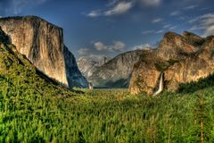 Мир в долине Стоковое фото RF