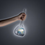 Мир в трубке Стоковое Фото