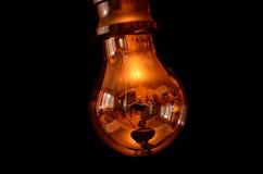 Мир в электрической лампочке стоковые изображения