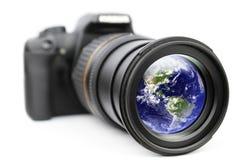 мир глаза ваш Стоковое фото RF