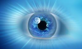 мир глаза иллюстрация вектора