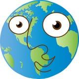 мир глобуса счастливый ся Стоковая Фотография