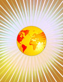 мир глобуса иллюстрация вектора