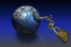 мир глобуса Стоковое Изображение