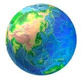 мир глобуса стоковая фотография rf