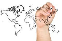 Мир глобального бизнеса стоковые фотографии rf