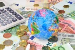 Мир евро Стоковое Изображение RF