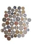 мир дег собрания монеток Стоковое Фото