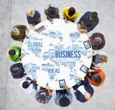 Мир дела глобальный планирует концепцию предприятия организации Стоковая Фотография RF