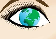 мир женщины Стоковое Изображение