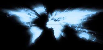 мир зарева Стоковые Фотографии RF