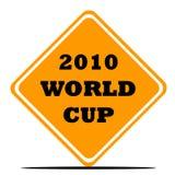 мир знака футбола чашки иллюстрация штока