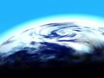 мир знамени 3d Стоковые Фотографии RF