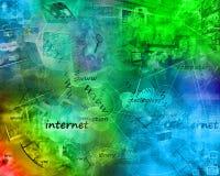 Мир интернета Стоковые Фотографии RF