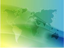 мир карты иллюстрации Стоковая Фотография RF