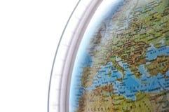 мир карты Италии стоковые фотографии rf