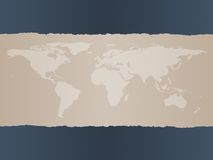 мир карты предпосылки Стоковые Изображения RF