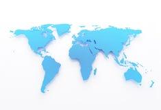 мир карты иллюстрация вектора