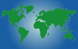 мир карты стоковое фото