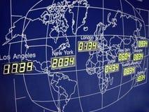 мир карты Стоковые Изображения