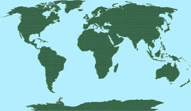 мир карты иллюстрация штока