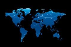 мир 01 карты Стоковые Изображения RF