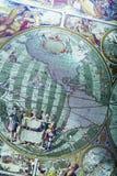 мир карты antique Стоковое Изображение RF