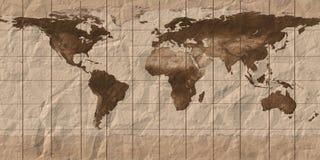 мир карты aol бесплатная иллюстрация