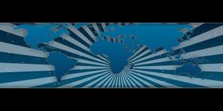 мир карты busniess предпосылки Стоковая Фотография