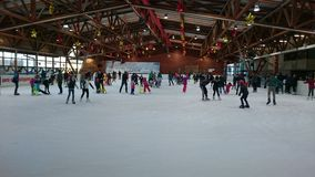 Мир катания на коньках стоковое фото