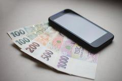 мир компенсации карты интернета глобуса кредита принципиальной схемы карточки банка Стоковое Изображение