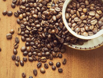 Мир кофе Стоковое фото RF