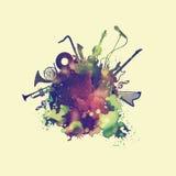 Мир музыки Стоковое Изображение RF