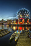 МИР НАУКИ - False Creek TELUS, Ванкувер Стоковое фото RF