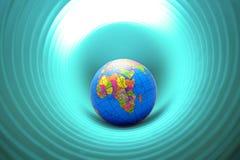мир отверстия Стоковые Изображения