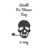 Мир отсутствие дня табака Стоковые Фотографии RF