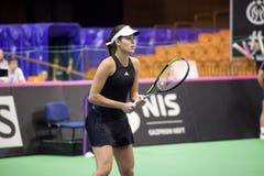 Мир отсутствие 6 теннисиста Ана Ivanovic Стоковое Изображение