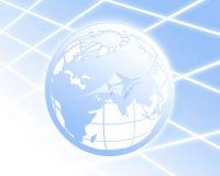 мир перемещения глобуса Стоковое фото RF
