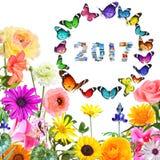 Мир перемещения Нового Года 2017 Израиля волшебный Стоковые Фотографии RF