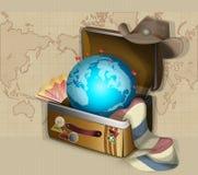 мир перемещения Стоковые Фото