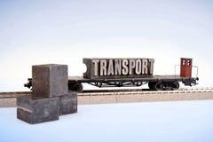 мир перехода паровозов Стоковые Фотографии RF
