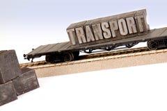 мир перехода паровозов Стоковые Фото
