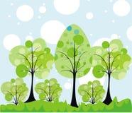 мир принципиальной схемы зеленый Стоковые Фото
