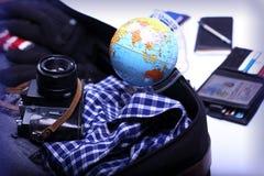 Мир путешественника Стоковые Фотографии RF