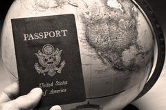 мир путешественника Стоковые Фото