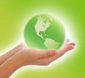 мир руки Стоковое Фото