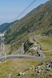 мир самой лучшей дороги transfagarasan стоковое фото rf