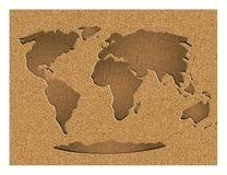 мир сбора винограда карты Бесплатная Иллюстрация