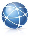 мир сети иконы широкий Стоковое Изображение RF