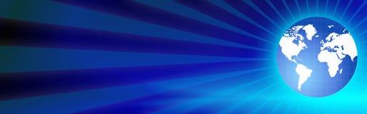 мир сети перемещения коллектора глобуса Стоковая Фотография RF
